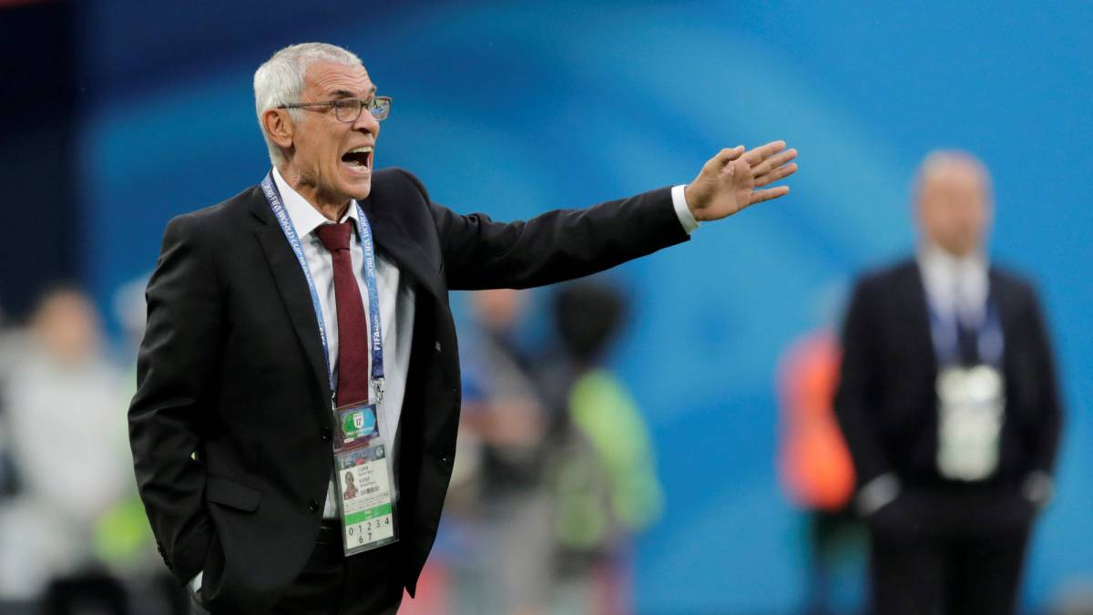 Egypt coach Héctor Cúper has left his role after World Cup exit