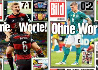 The world's media reacts to Germany's shock exit