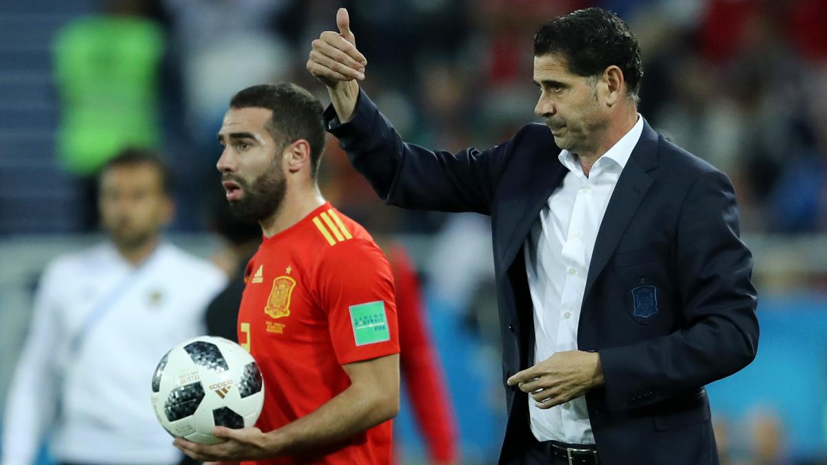 """Hierro's a great coach"" - Spain's Carvajal rejects Schuster criticism"