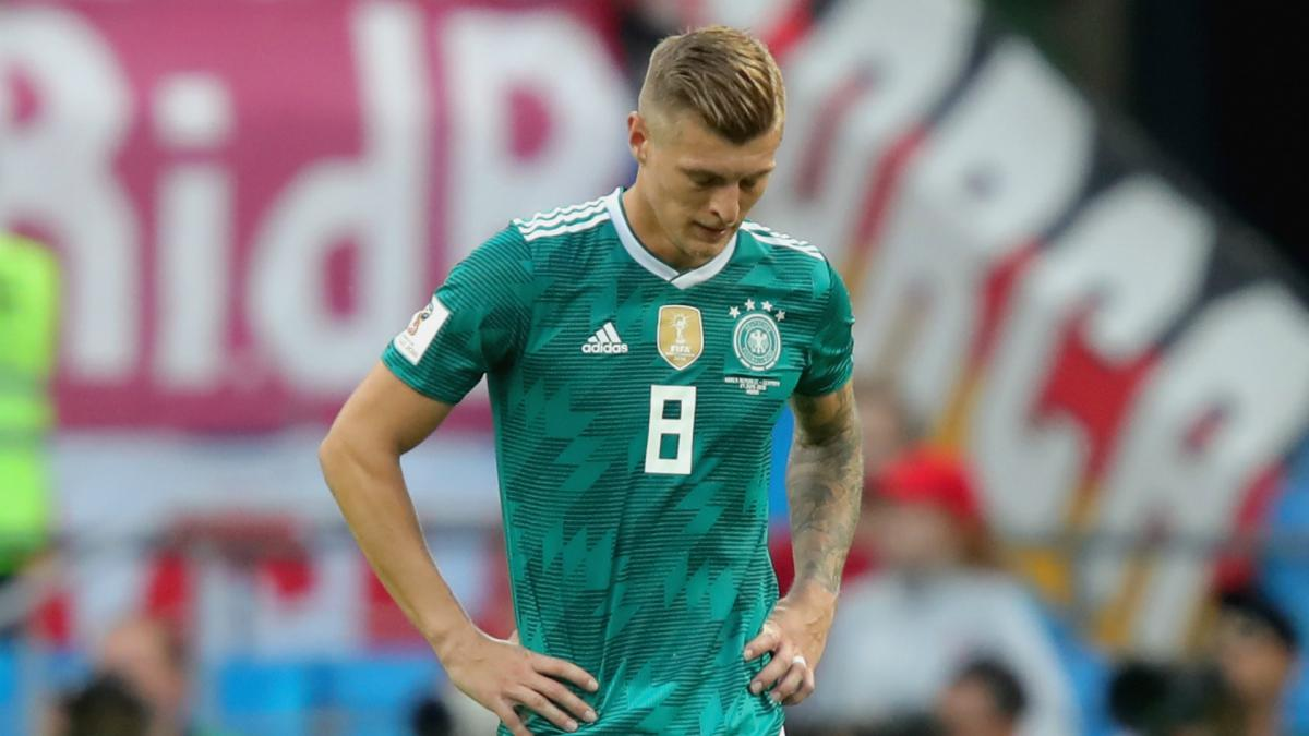 Kroos sad and angry after 'black day'