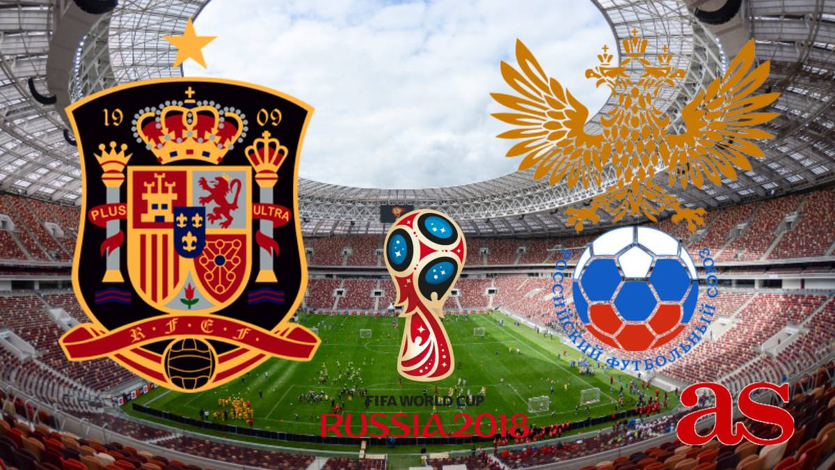 Spain v Russia how and where to watch