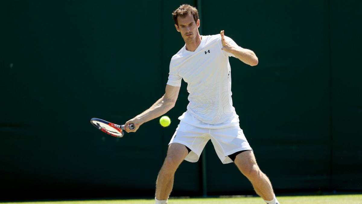 Murray still on course for Wimbledon but feels 'a little bit odd'