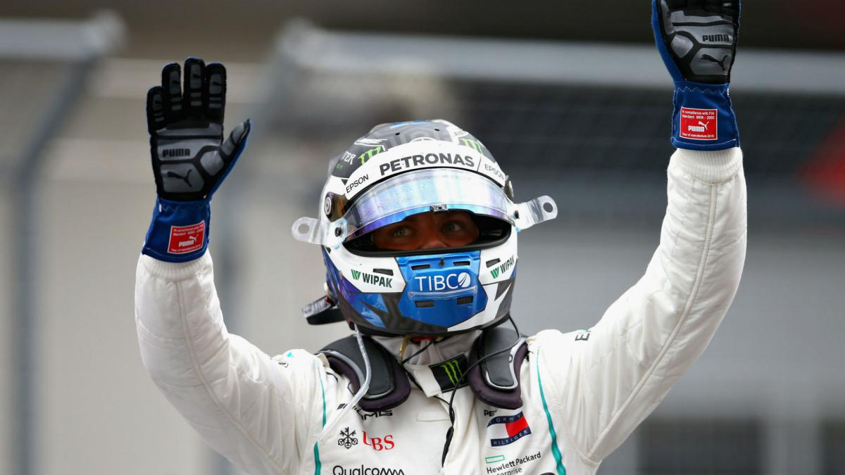 Mercedes continue dominance as Bottas takes Austrian pole