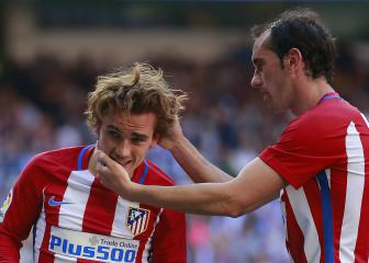 Griezmann ready for daughter's godfather Godín in Russia