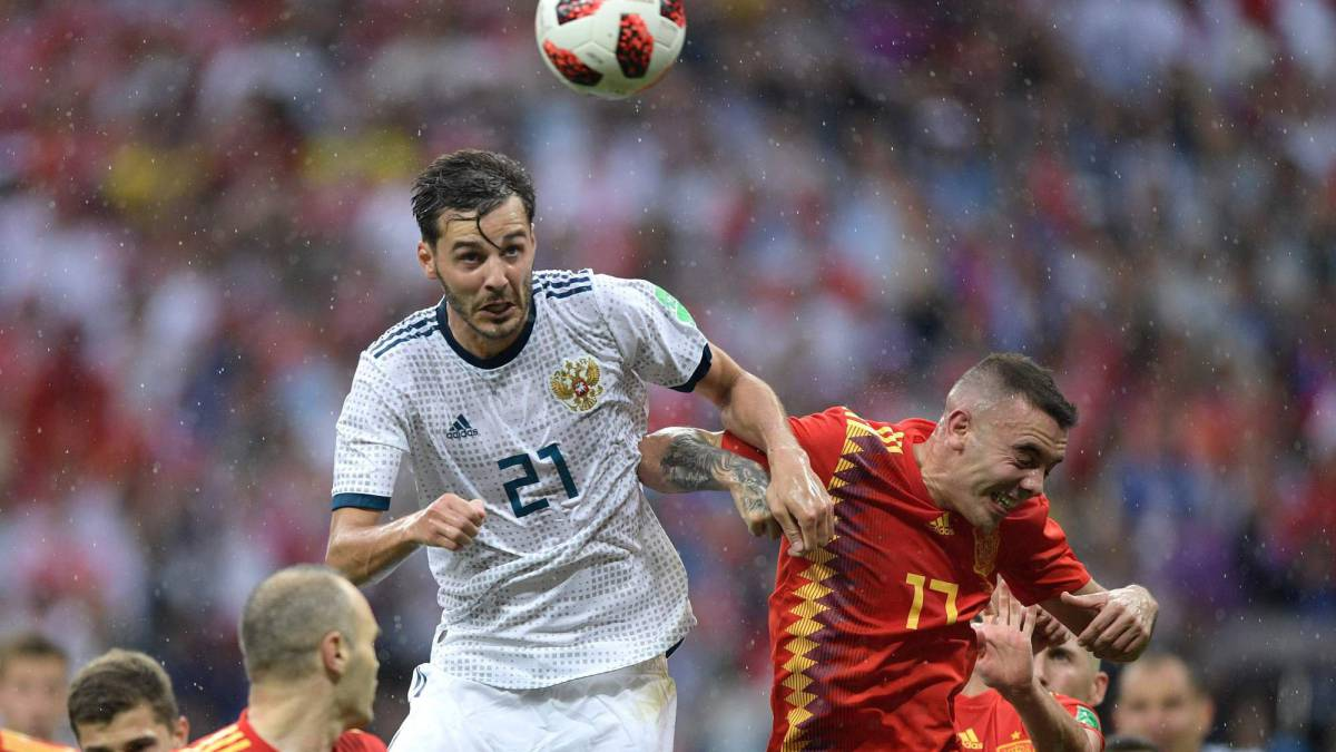 Erokhin makes World Cup history as fourth substitute