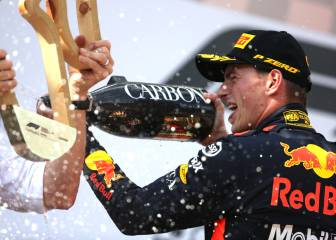 Verstappen enjoys comforts of home at Austrian Grand Prix