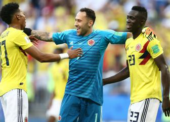 England don't frighten us, says Colombia's David Ospina