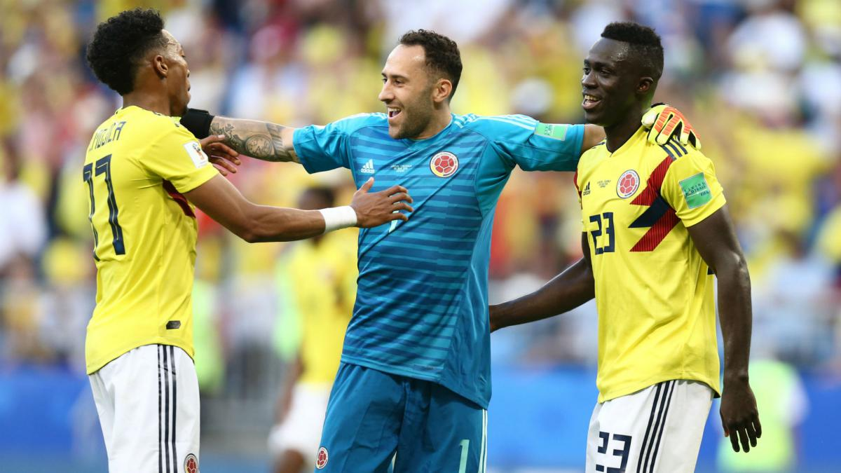 England don't frighten Colombia – Ospina