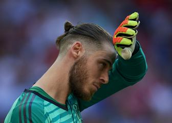We're f***** but we'll get up again - De Gea responds to World Cup exit