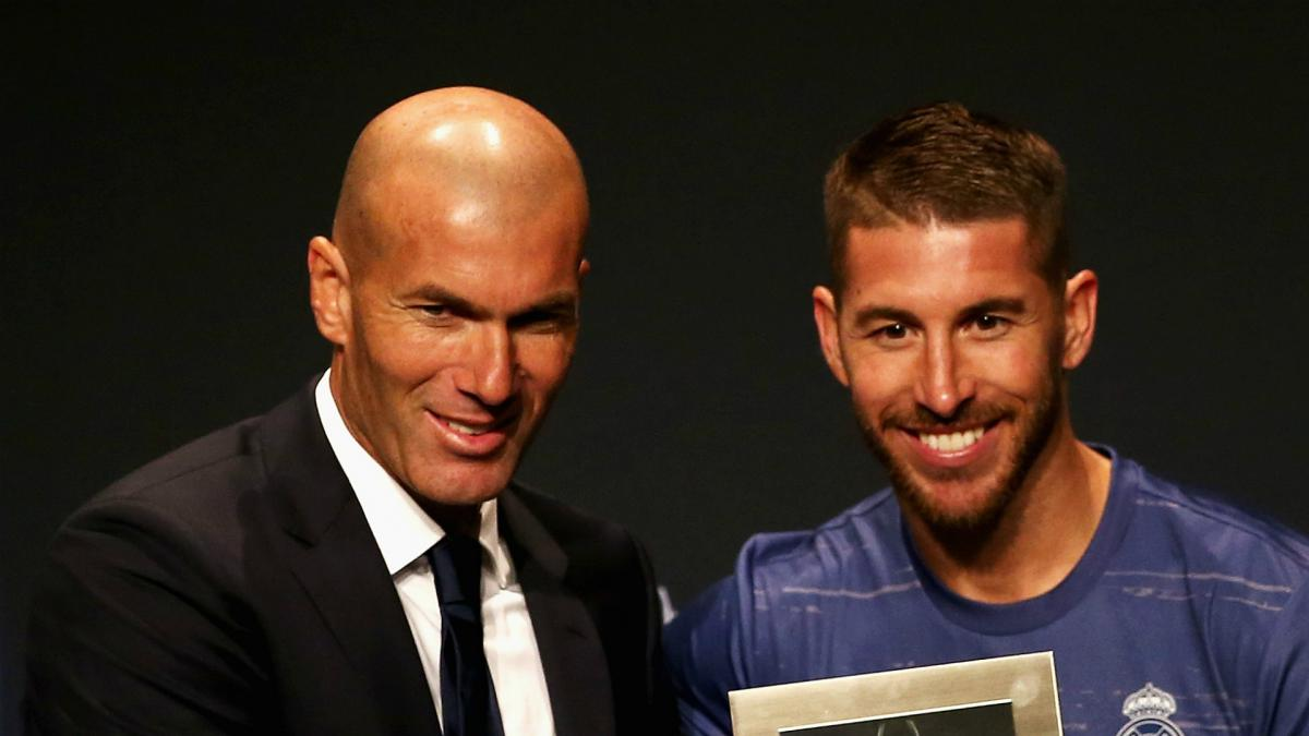 Zidane departure from Real Madrid was bitter - Ramos