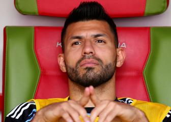Aguero ignores Sampaoli in thank you message