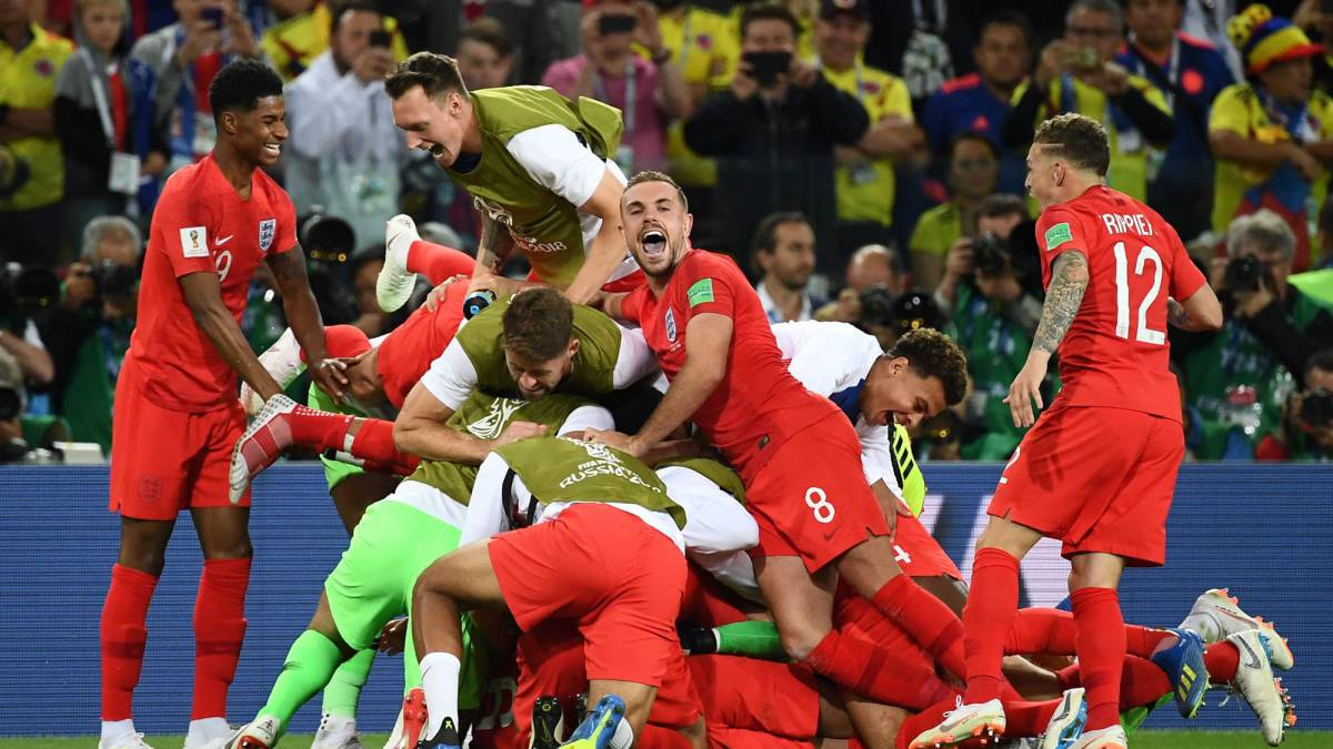 Colombia 1-1 England (3-4 penalties): World Cup 2018 last 16 match