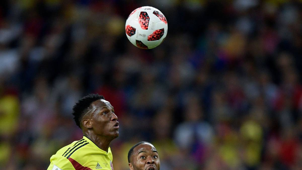Yerry Mina becomes Colombia's 2nd highest goalscorer in World Cup history