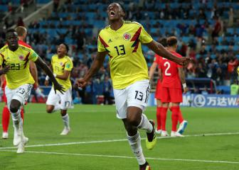 Colombia did not deserve to lose - Mina