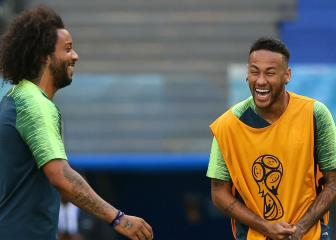 Marcelo fit and will start against Belgium, Tite confirms