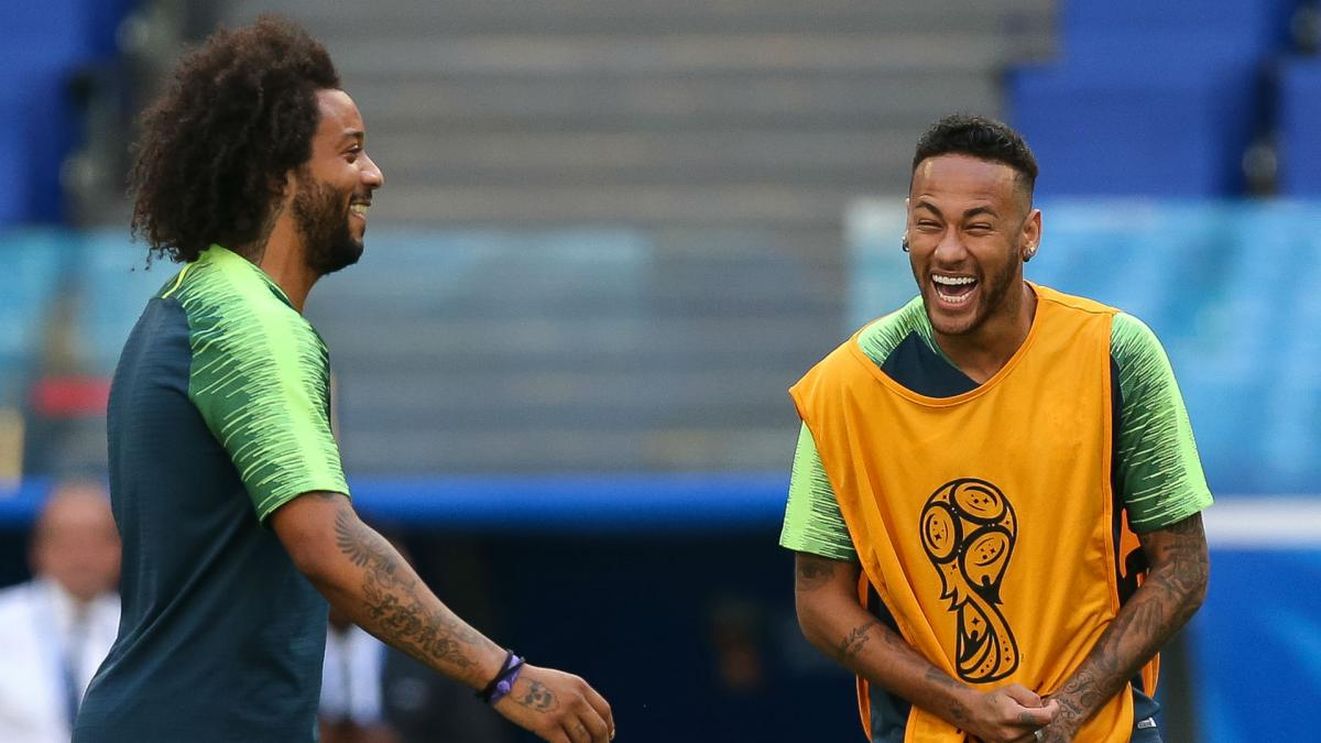 Marcelo back in contention for Belgium clash, Tite confirms