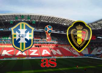 Brazil vs Belgium: how and where to watch
