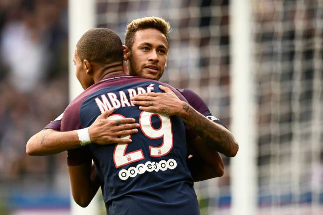 Replacement | PSG pair Neymar and Kylian Mbappe are being touted as potential successors to Cristiano's throne.
