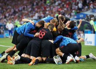 Croatia seal semi with win over Russia from the spot