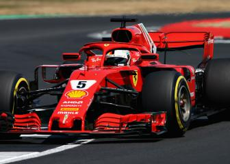 Vettel wins thrilling British GP as Hamilton recovers to second
