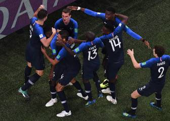 France book their place in the World Cup final