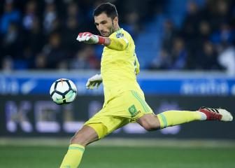 Atletico sign former Madrid keeper Adan from Betis