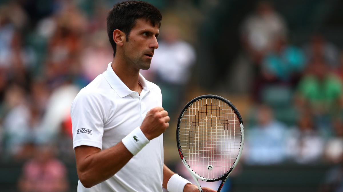 Djokovic upbeat over form at Wimbledon