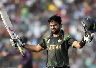 Pakistan's Shehzad formally charged over positive dope test