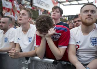 Tears of a nation as England fall short in World Cup semi-final