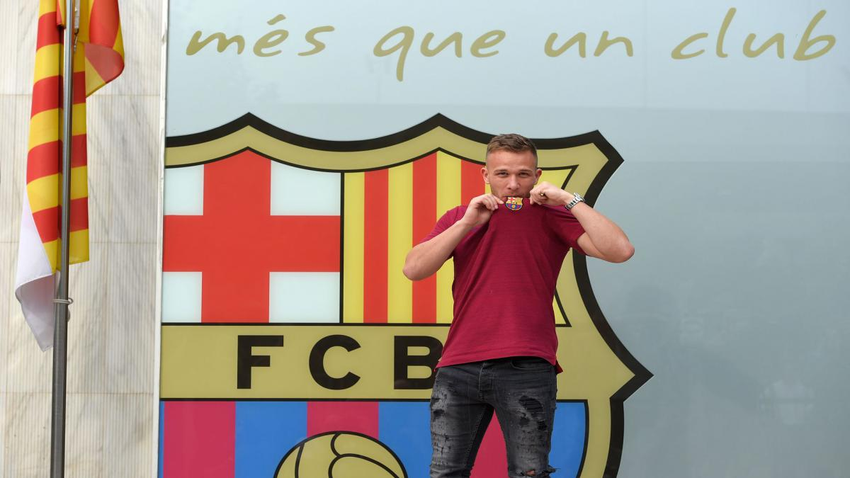 Arthur: It is a privilege to join Barcelona