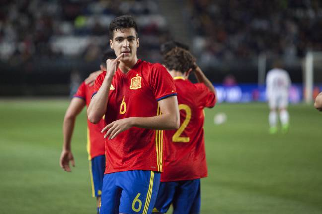 Spain U21 international Mikel Merino has joined Real Sociedad