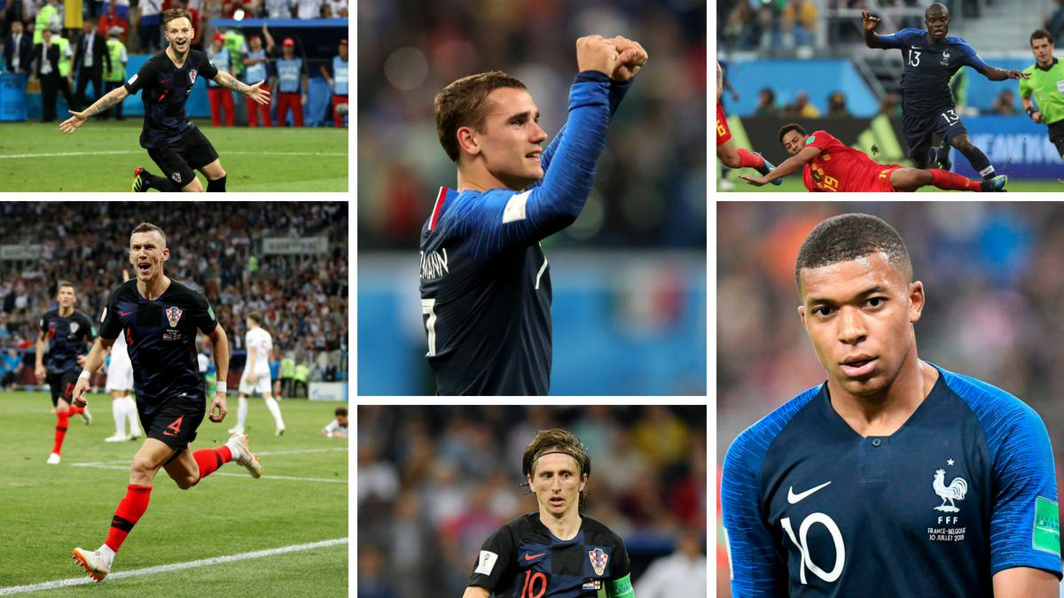 Player of the tournament: Making a case for the World Cup final's six contenders