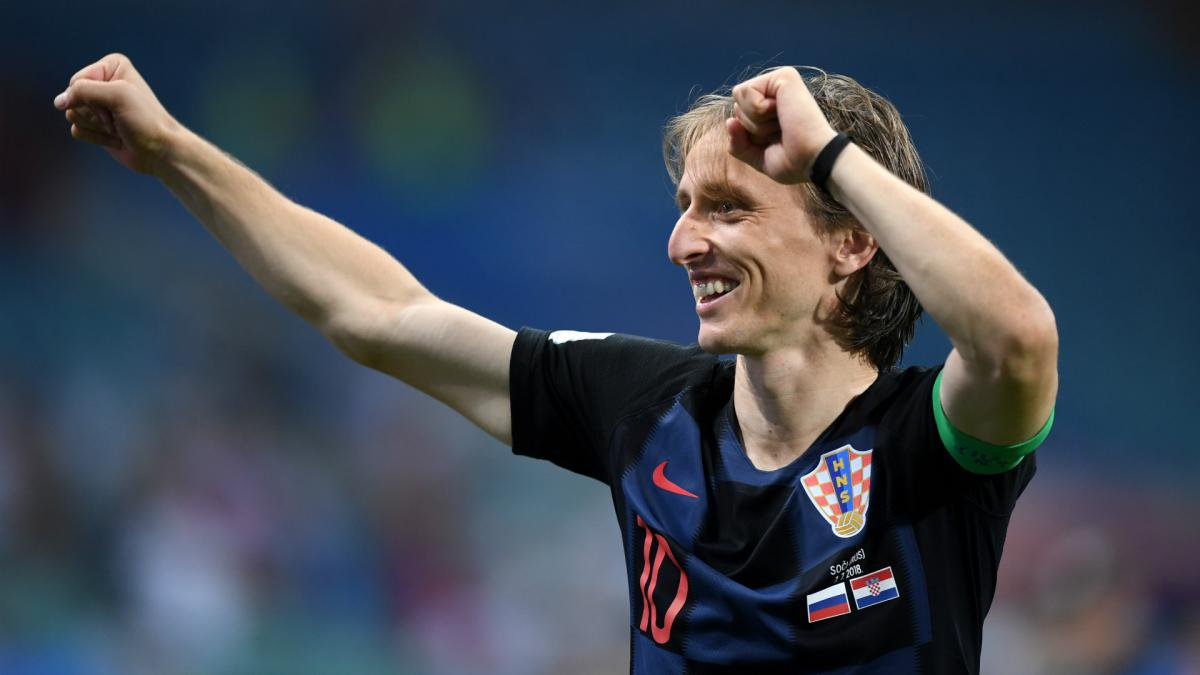 How refugee Modric rose to rule Russia 2018