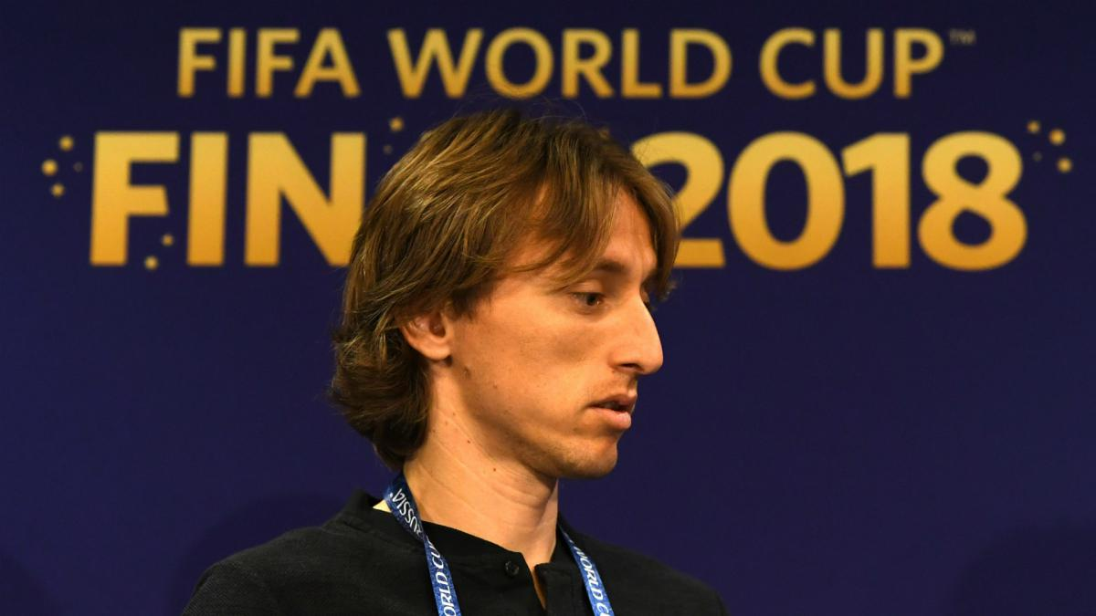 Ballon d'Or talk makes Modric proud but World Cup trophy his only goal