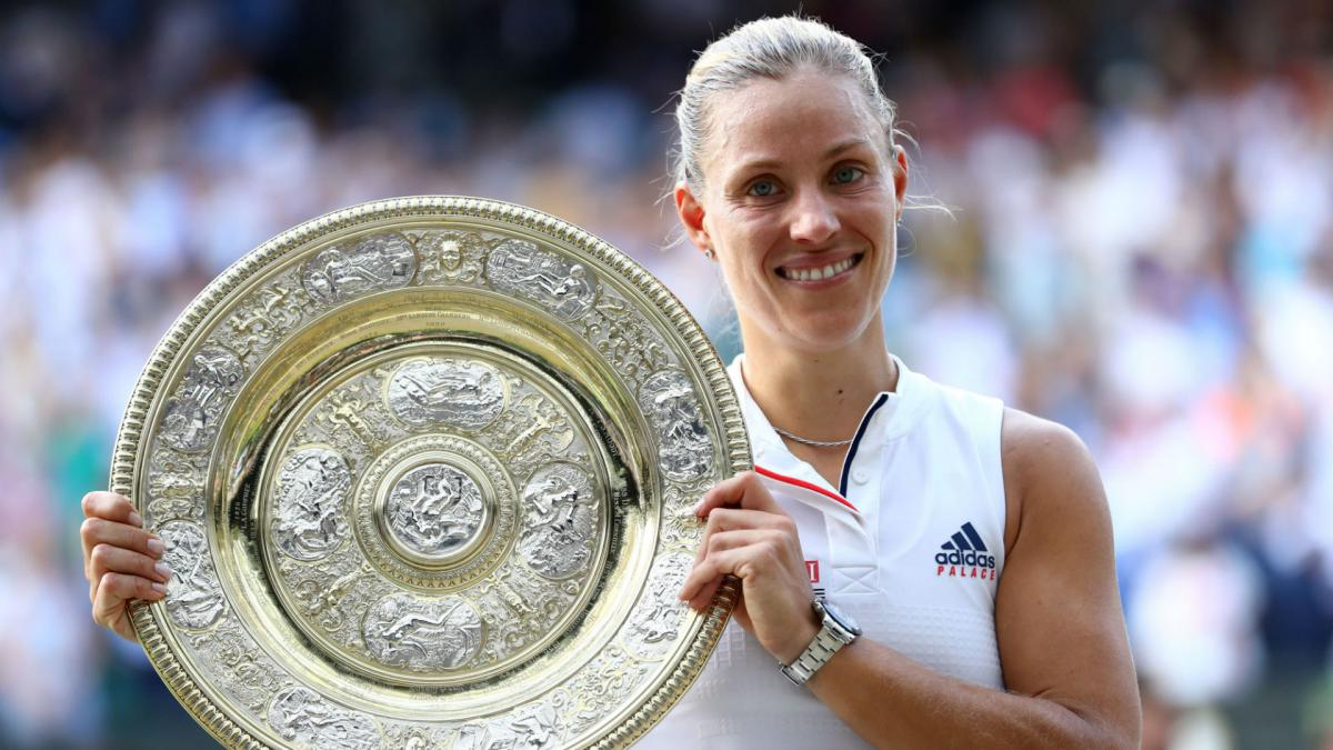 Serena an inspiration for new Wimbledon champion Kerber
