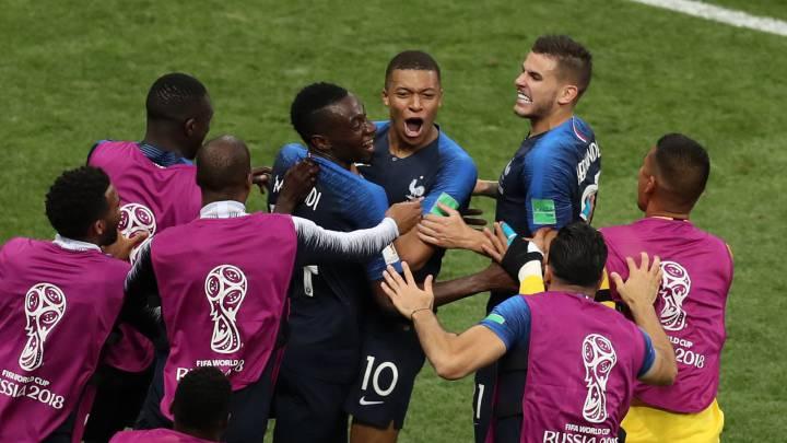 9e0207489 World Cup Final match report: France 4-2 Croatia - AS.com