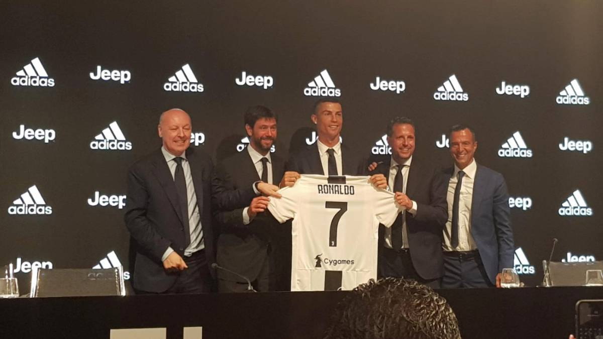 eb474fe30 Cristiano Ronaldo Juventus press conference  live - AS.com