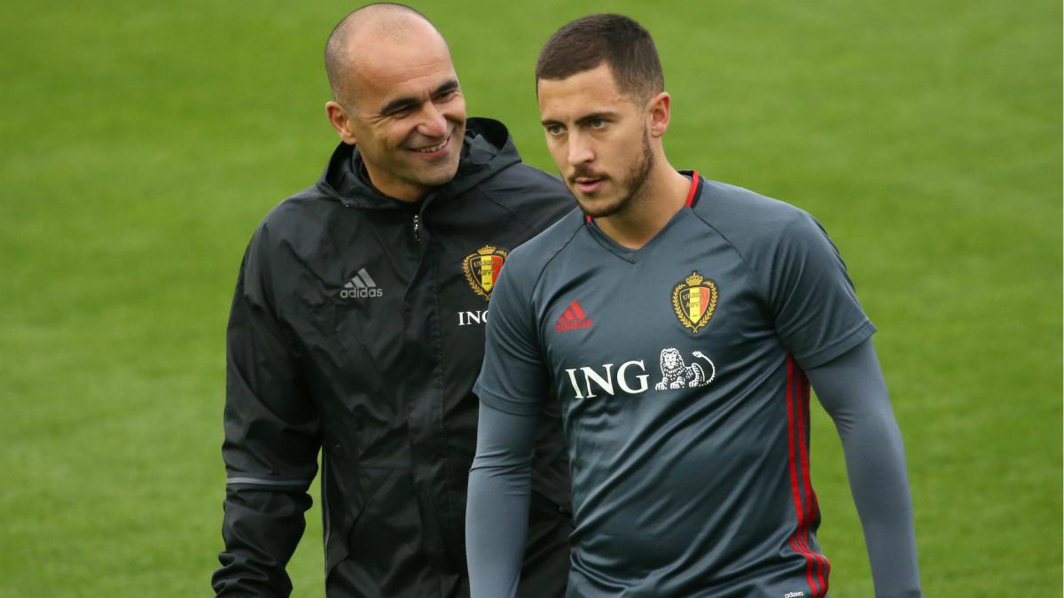It could be the best time - Martinez hints at Hazard Chelsea exit - AS.com