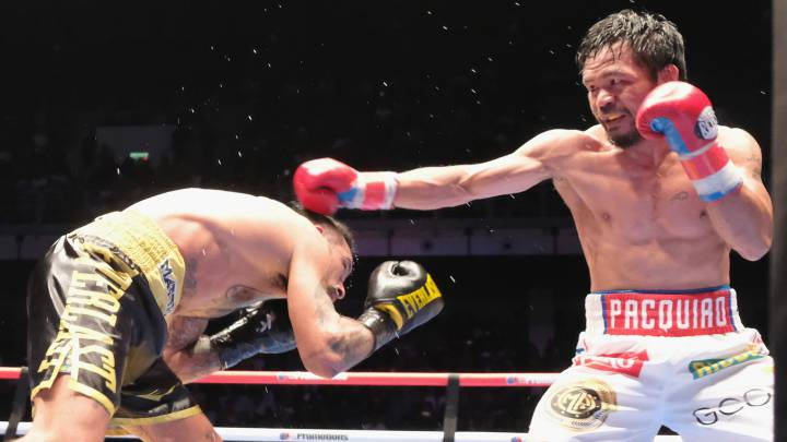 Pacquiao eyes 'two or three' more fights after powering to first KO win in nine years