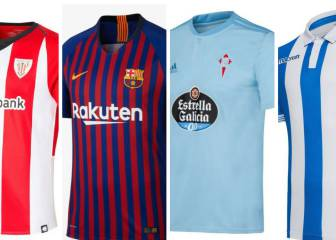 All kitted out for LaLiga 2018/19: all 20 Primera division teams' home strips