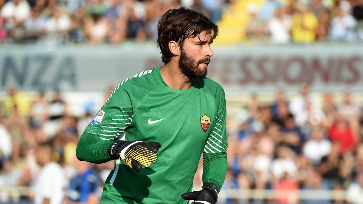 Alisson thanks Roma fans ahead of rumoured Liverpool switch
