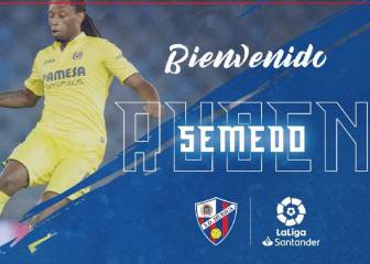 Huesca sign Ruben Semedo on loan after release from jail