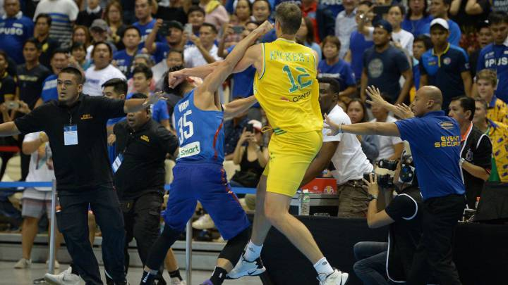 13 players and two coaches suspended for 'basketbrawl'