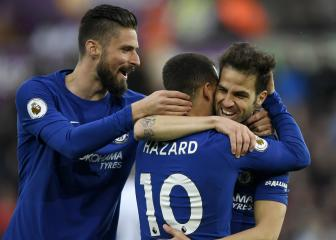 Hazard is Chelsea's best player and we need him - Fàbregas