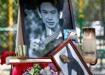 Suspect in murder of Olympic figure skater Denis Ten held