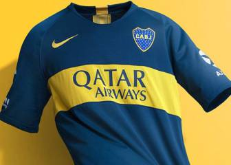 Boca Juniors launch new season home and away kits