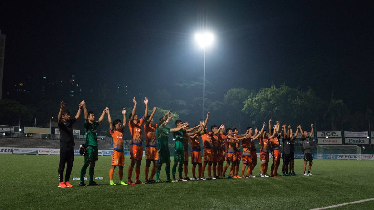 Japanese side Albirex clinch Singapore Premier League with six games to spare