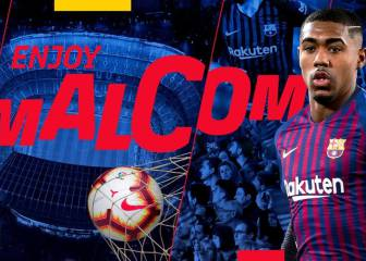 Official: Malcom joins Barcelona