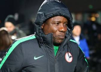 Nigerian chief coach Salisu Yusuf filmed accepting bribe