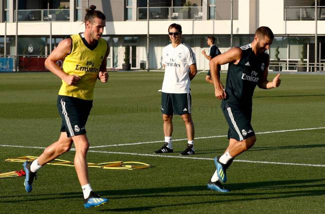 16/07/2018 | Benzema and Bale getting ready for a big season ahead.